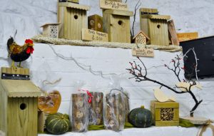 Bird feeders, bird boxes, and insect hotels from Elm Tree Farm